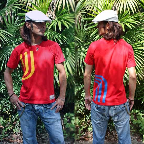 【JIKUU】 メンズ3J-Tシャツ『スペイン』