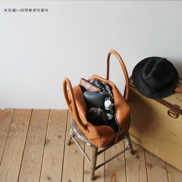 5a85b38724bc 夏の支度PRICE】 牛革 レザー 手縫い麻糸 ボストンバッグ 【Sサイズ】底 ...