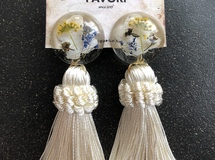 botanical tassel white/大ぶり