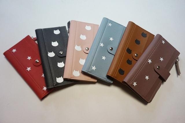 reputable site 3ded9 21676 デザイン、お色ご自由に選択、オリジナル手帳型財布、収納力抜群のお財布、オリジナルデザイン