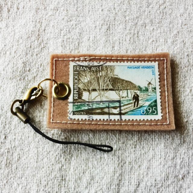 フランスの切手ストラップ No.2
