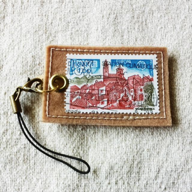 フランスの切手ストラップ No.3