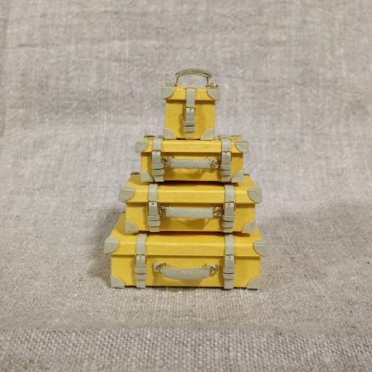 トランク4個セット*黄
