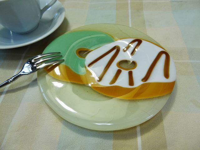 ドーナツのお皿(2個)