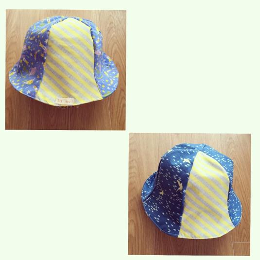 【キッズ】リバーシブル帽子