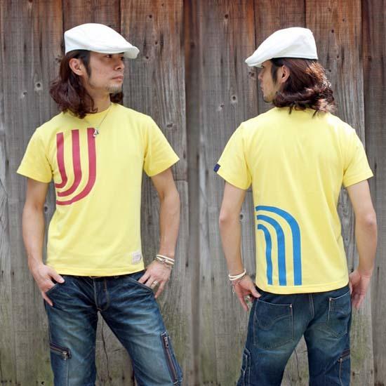 【JIKUU BY SLC】 コットン/メンズTシャツ『3J-ビビッド』