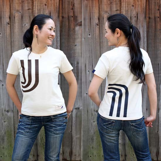 【JIKUU】 レディース3J-Tシャツ『ベーシック』