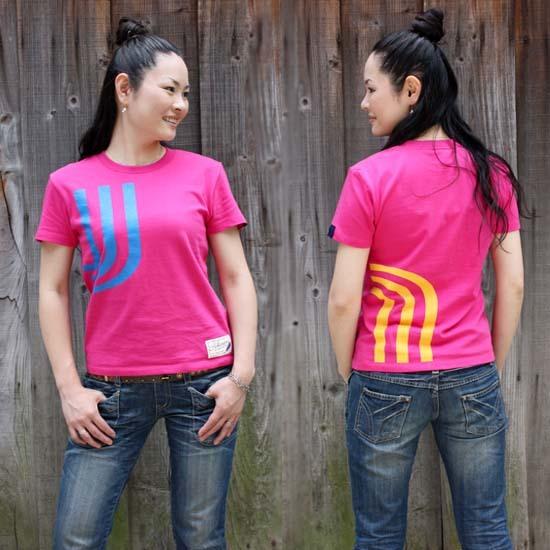 【JIKUU】 レディース3J-Tシャツ『ビビッド』