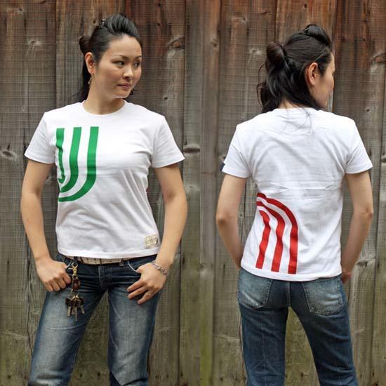 【JIKUU BY SLC】 コットン/レディースTシャツ『3J-イタリア』