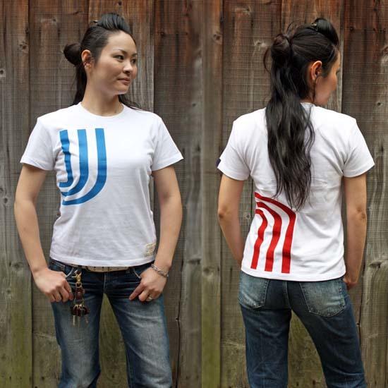 【JIKUU BY SLC】 コットン/レディースTシャツ『3J-フランス』