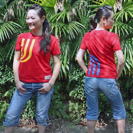【JIKUU】 レディース3J-Tシャツ『スペイン』