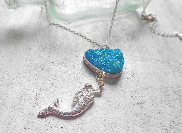☆再販☆ Sea Druzy Mermaid
