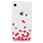 Lovely Hearts 11pro 11promax 11 XS XR XSmax X 8 8Plus 7 7Plus 6 5 iPhone ケース