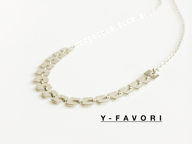 design・chain*squareネックレス