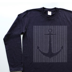 ⚓︎⚓︎⚓︎【5.6oz Long T-shirt】navy