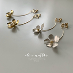 【2019春新作】Tiny One-Flower Earrings / 5 Petal