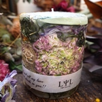 sustainable  botanical candle L 〜いちぢく〜