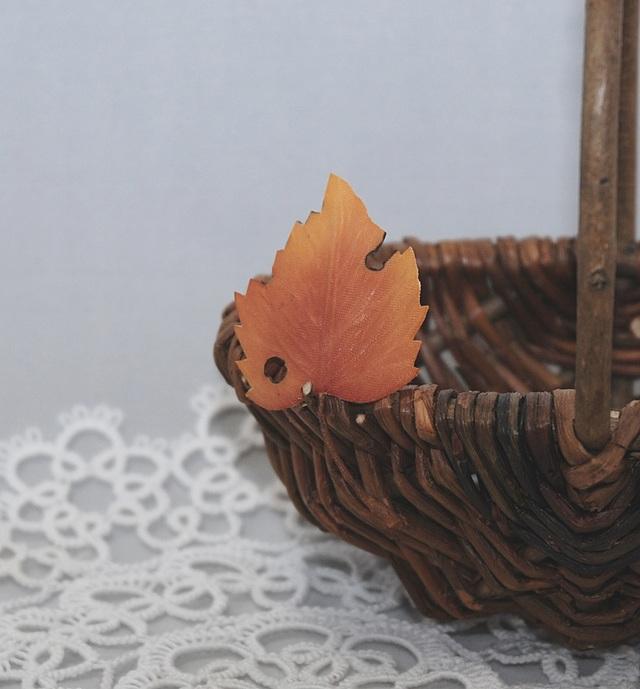 [留め具の選択可]Autumn Leaf WG RA