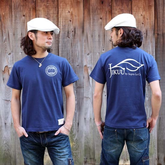 【JIKUU】 メンズTシャツ『JIKUU by SLC』