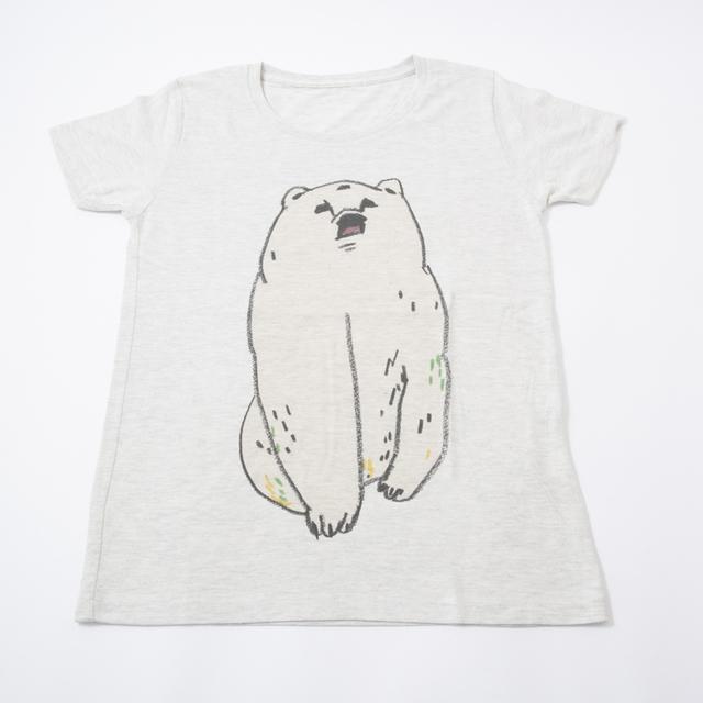 【千円びきセール。再販しません】Tシャツ  しろくま