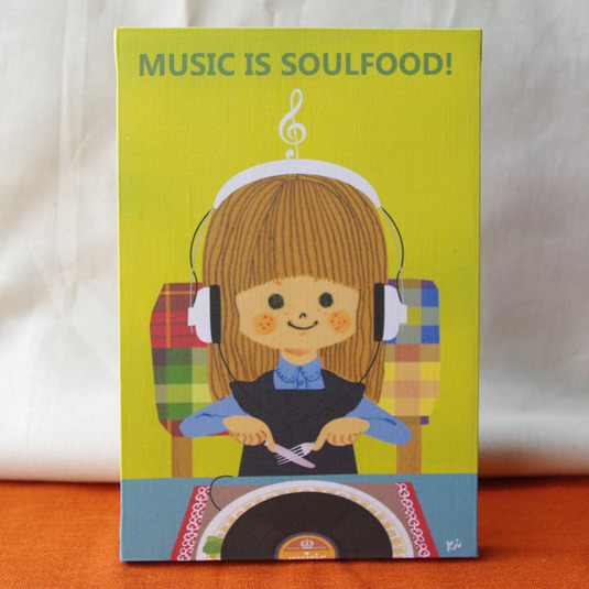 MUSIC IS SOULFOOD��