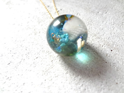 Seascape Necklace LL (訳あり)