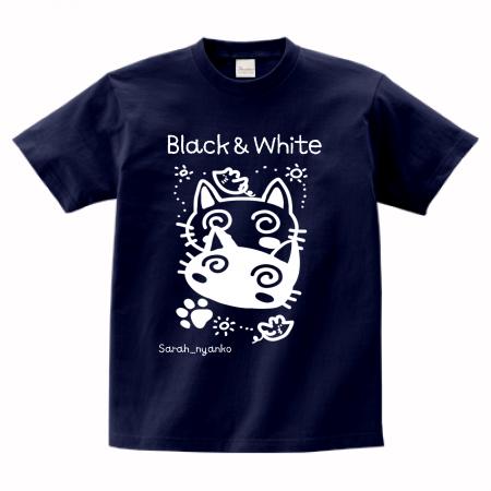 ネコ×ヌコTシャツ