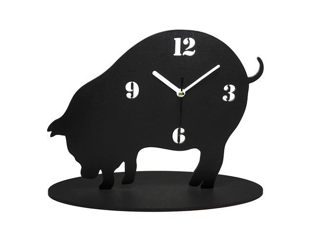 黒豚(くろぶた)の時計【黒豚さんも何掘ってるの‥?】