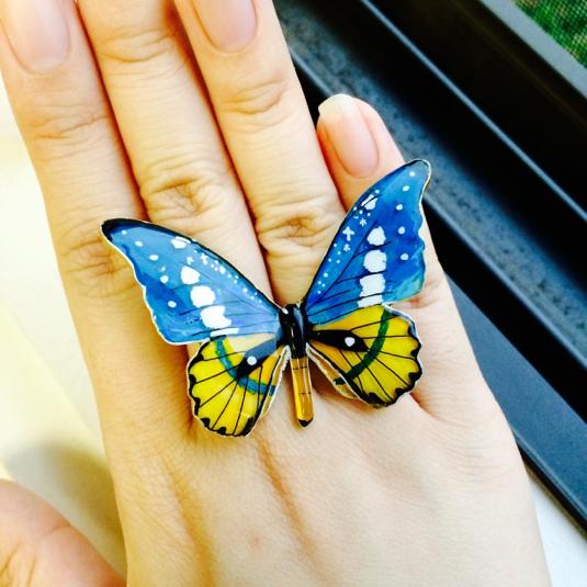 架空蝶々 夜空の煌めき パーツ