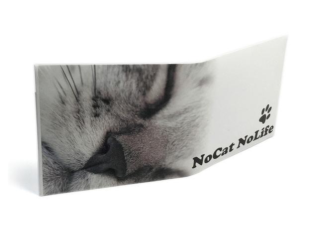 【送料¥90】 ストーンペーパーウォレット【眠り猫】