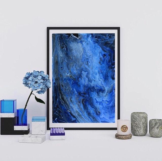 海 抽象画