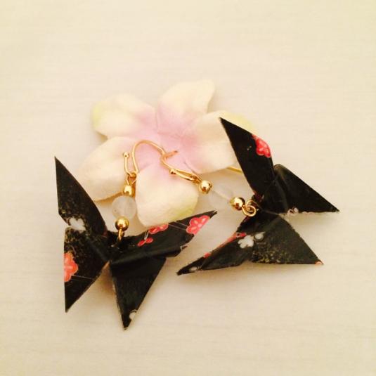 折り 折り紙:蝶々 折り紙-minne.com
