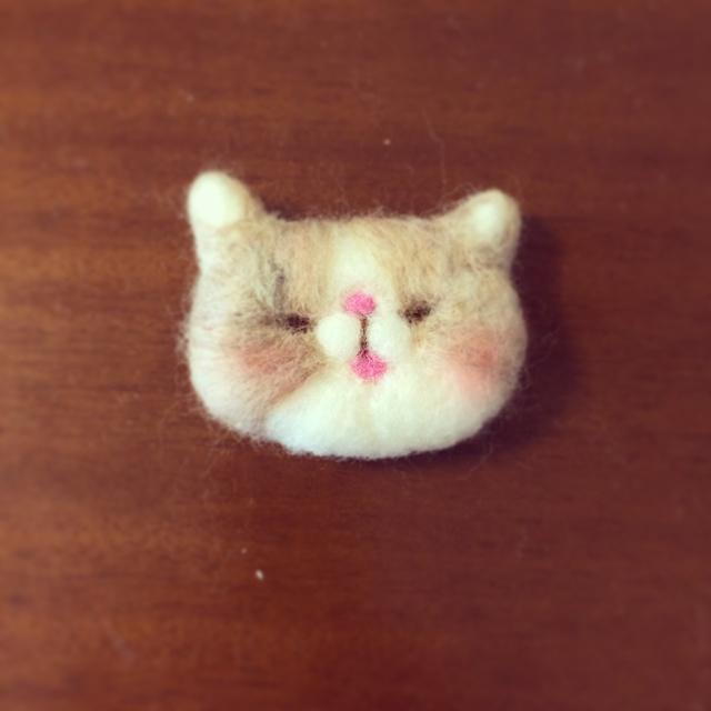 koippy様再販リクエスト 羊毛猫さん