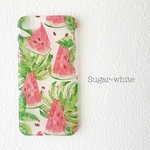 iPhone ケース ❤︎  Water melon & reef