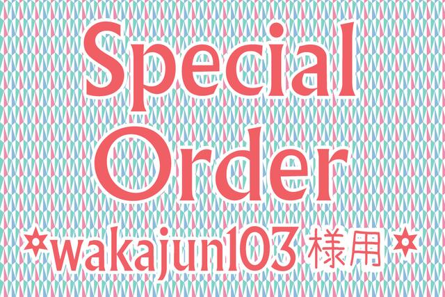 wakajun103様専用 オーダー商品