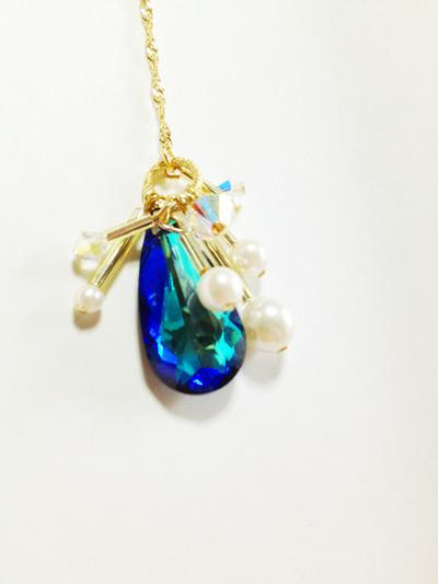 Cosmic Sparkle long pierce/earrings