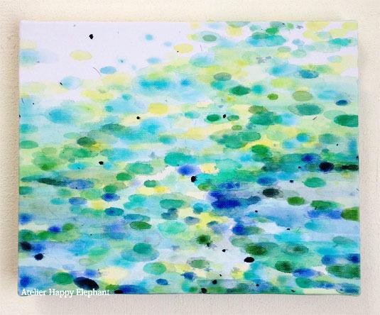 青い池 #2