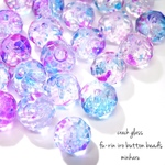 button cut 30pcs)Fūrin iro beads