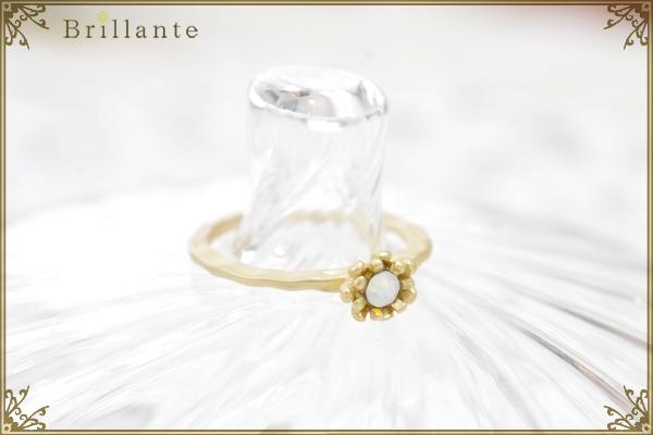 petit florence ring (LG-opal)