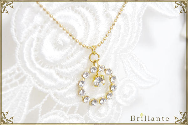 Julietta necklace (crystal)