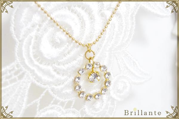 Julietta necklace (crystal)