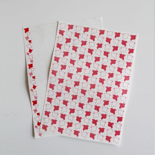 〈紙モノがたり〉oriiro:千鳥