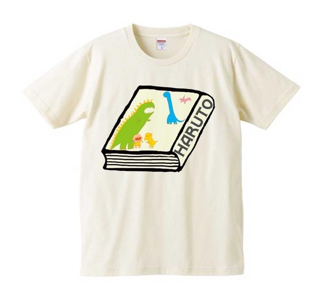 うーにかKid'sオリジナルTシャツ【toncharikhaデザイン きょうりゅうひゃっか】