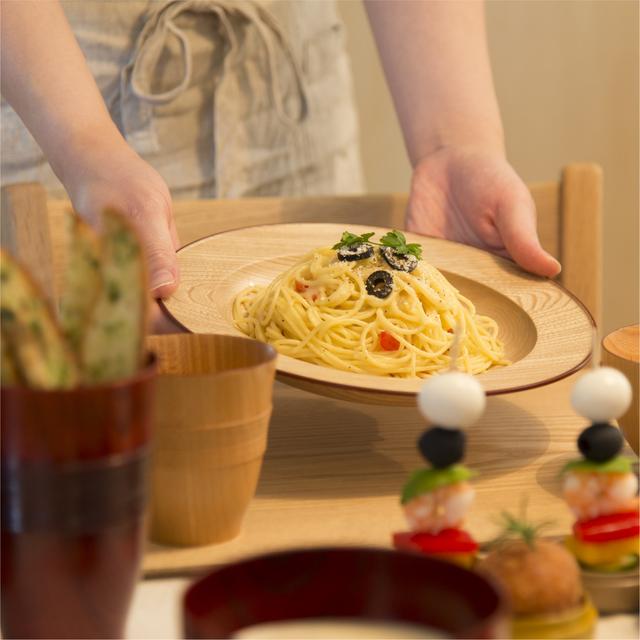 栓 Shikki de Pasta ナチュラル 渕朱