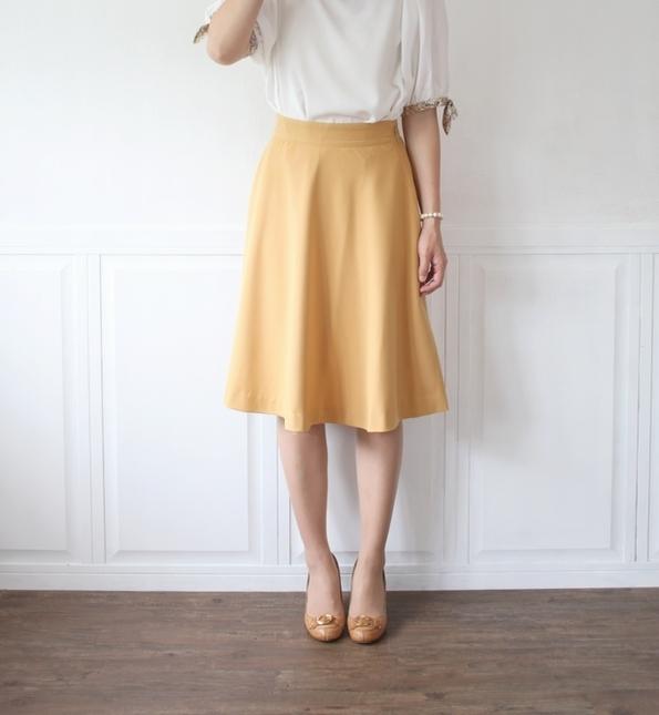 ふわっと広がる♡簡単フレアスカートの作り方♪