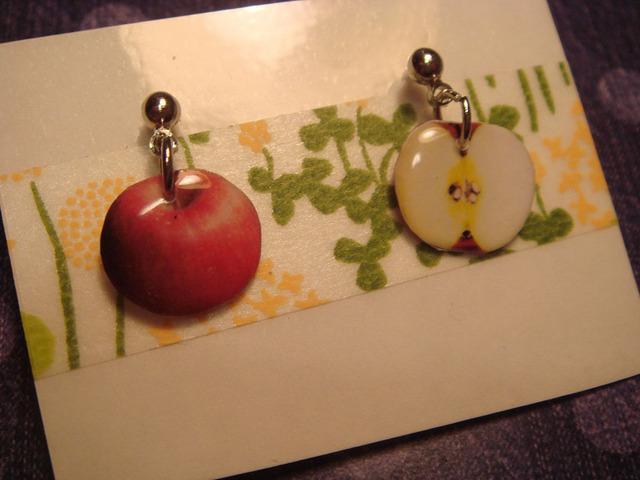リンゴ★ピアス