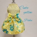 Cute yellow dress【オーダー】