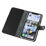 本革 iPhone XR 用 ケース 黒色  Leather iPhone XR case black