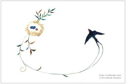 ポストカード4枚セット/春