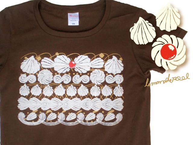 ホイップクリームTシャツ(Lサイズ)